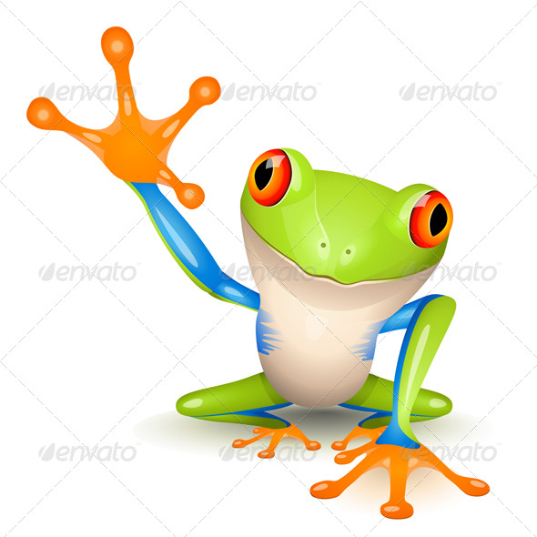 Little Tree Frog - Animals Characters
