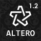 Altero - Responsive Morphing Multipurpose Template Nulled