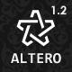 Altero - Responsive Morphing Multipurpose Template