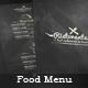 Food Menu - Flyer [Vol.4]