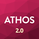 ATHOS V2 - Innovative Coming Soon Template Nulled