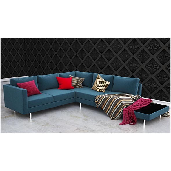 Vice collection sofa - 3DOcean Item for Sale