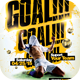 Soccer - Goal Flyer Template - GraphicRiver Item for Sale