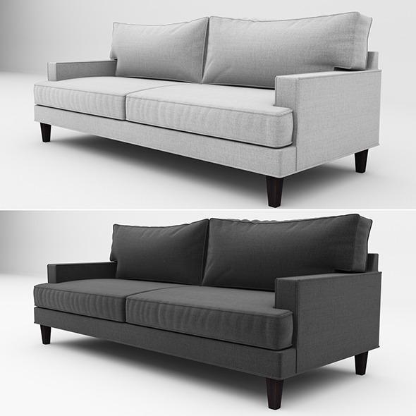 Ramey sofa 02 - 3DOcean Item for Sale