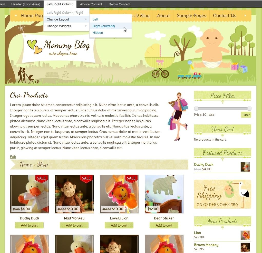 Mommy Blog WordPress