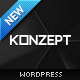 Konzept - Fullscreen Portfolio WordPress Theme Nulled