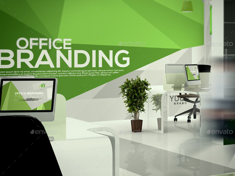 Office Branding Mockups V5 By Wutip Graphicriver