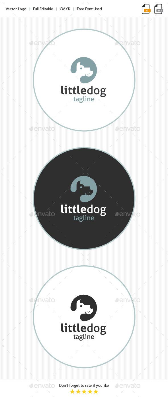 Little Dog Logo - Animals Logo Templates