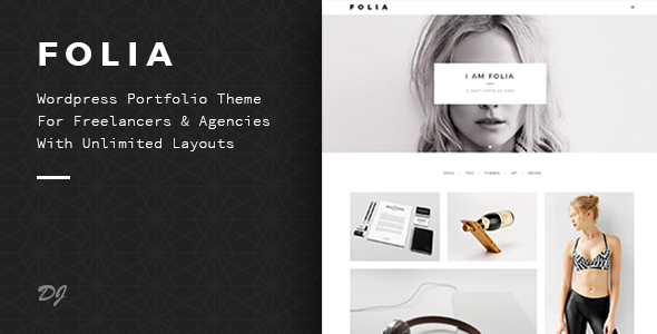 Folia | Agency & Freelance Portfolio WP Theme