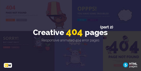 Creative 404 Pages (Part 2)