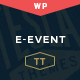 E-event - Conference & Event WordPress Theme Nulled