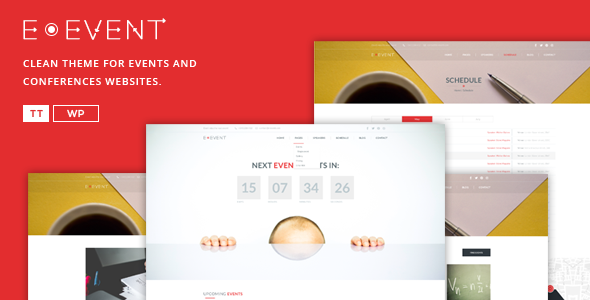 E-event - Conference & Event WordPress Theme - Events Entertainment