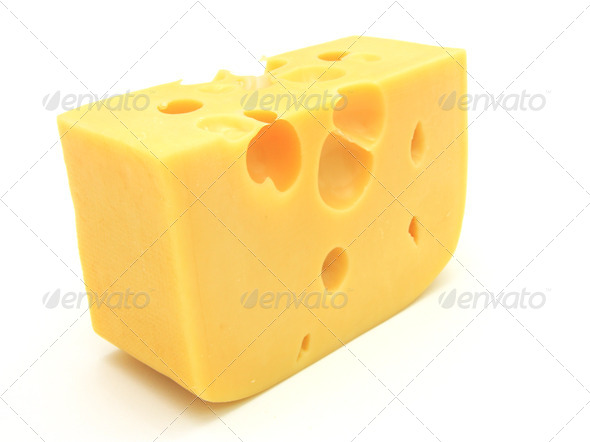 piece of cheese - Stock Photo - Images
