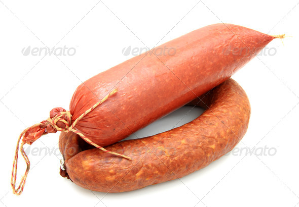 Tasty sausage - Stock Photo - Images