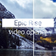 Epic Rise - Video Reel - VideoHive Item for Sale