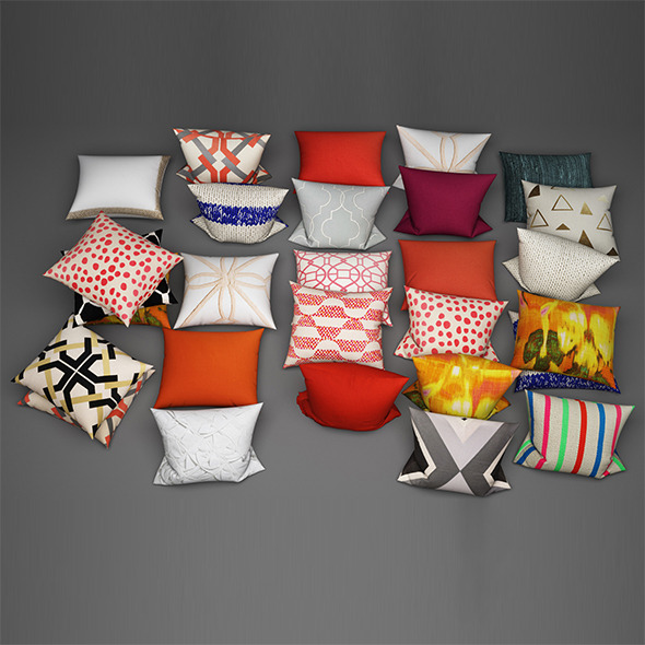 Pillows 28 - 3DOcean Item for Sale