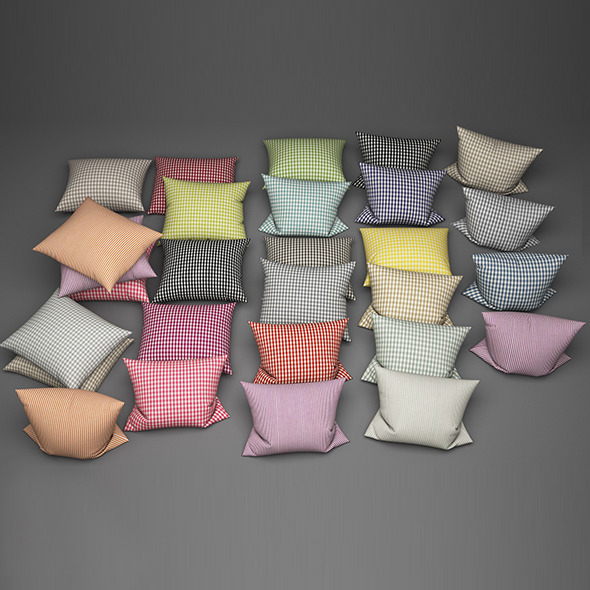 Pillows 25 - 3DOcean Item for Sale