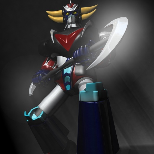 Grendizer rigged  - 3DOcean Item for Sale