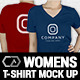 Women Multipurpose Tshirt Mock Up - GraphicRiver Item for Sale