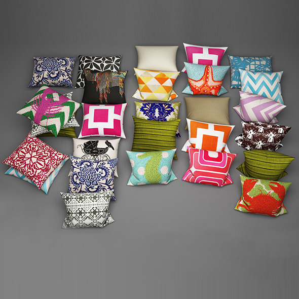 Pillows 20 - 3DOcean Item for Sale