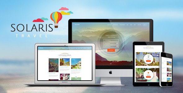 Solaris | Travel Agency WordPress Theme - Travel Retail