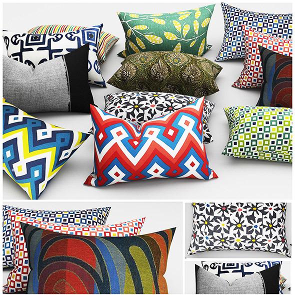 Pillows cushion - 3DOcean Item for Sale