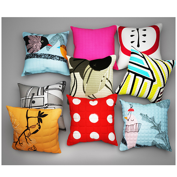 Pillows 31 - 3DOcean Item for Sale