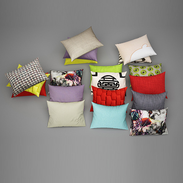 Pillows 29 - 3DOcean Item for Sale