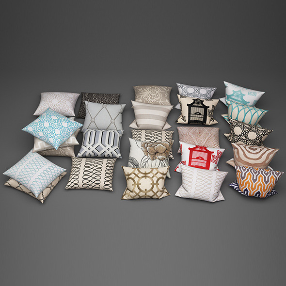 Pillows15 - 3DOcean Item for Sale