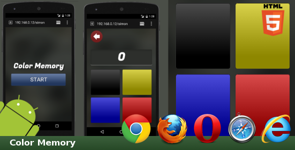 Download Sourcode              HTML5 Color Memory nulled version