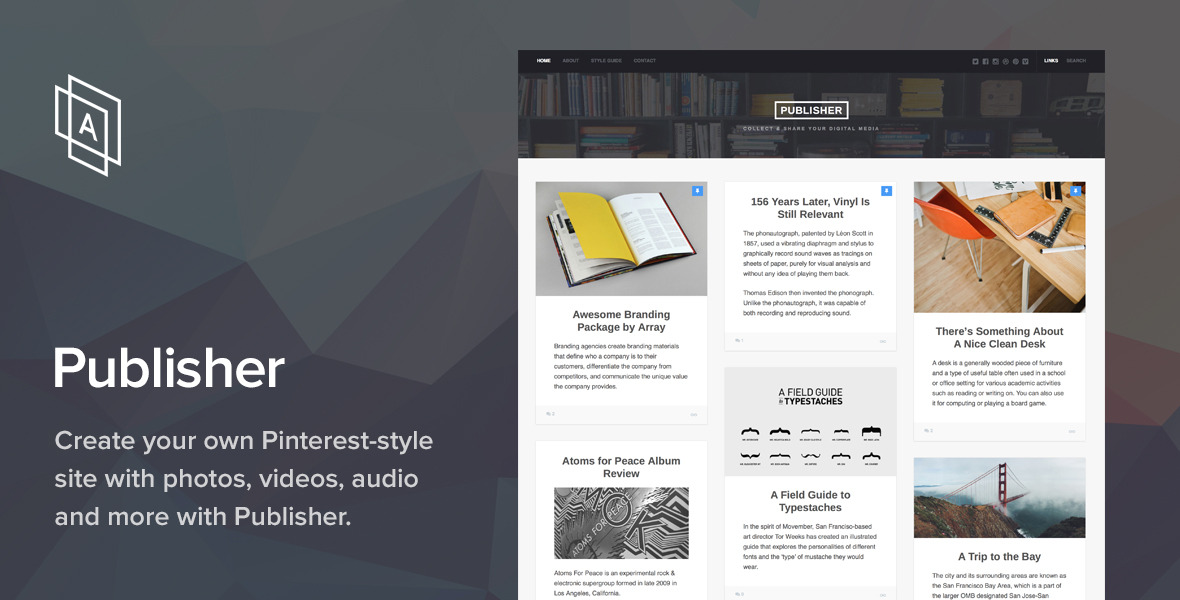 Publisher WordPress Theme by ArrayThemes | ThemeForest