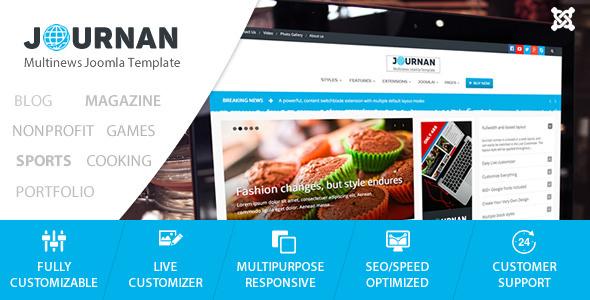 Journan - Multi-Purpose News/Magazine Template