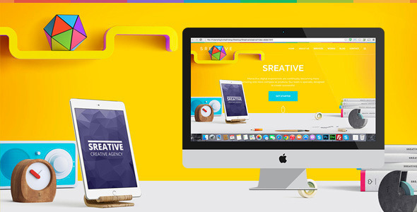 Sreative | Digital Agency HTML Template - Creative Site Templates
