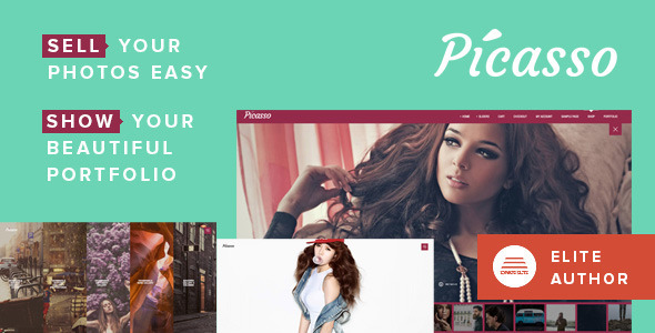 Picasso - Photography, Portfolio WordPress Theme - Photography Creative