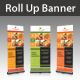 Restaurant Services Rollup Banner - GraphicRiver Item for Sale