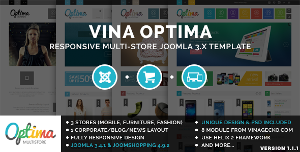 Vina Optima :: Multi-Store Joomla 3.x Template