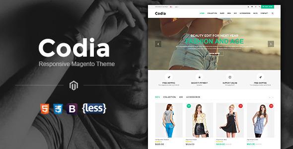 SNS Codia - Responsive Magento Theme - Magento eCommerce