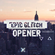 Fast Glitch Logo Opener - VideoHive Item for Sale
