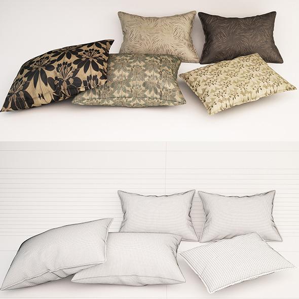 Pillow 05 - 3DOcean Item for Sale