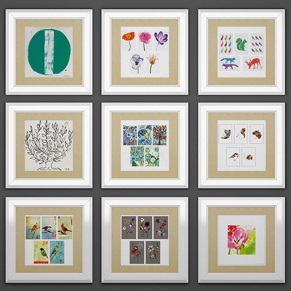 Frames picture 03 - 3DOcean Item for Sale