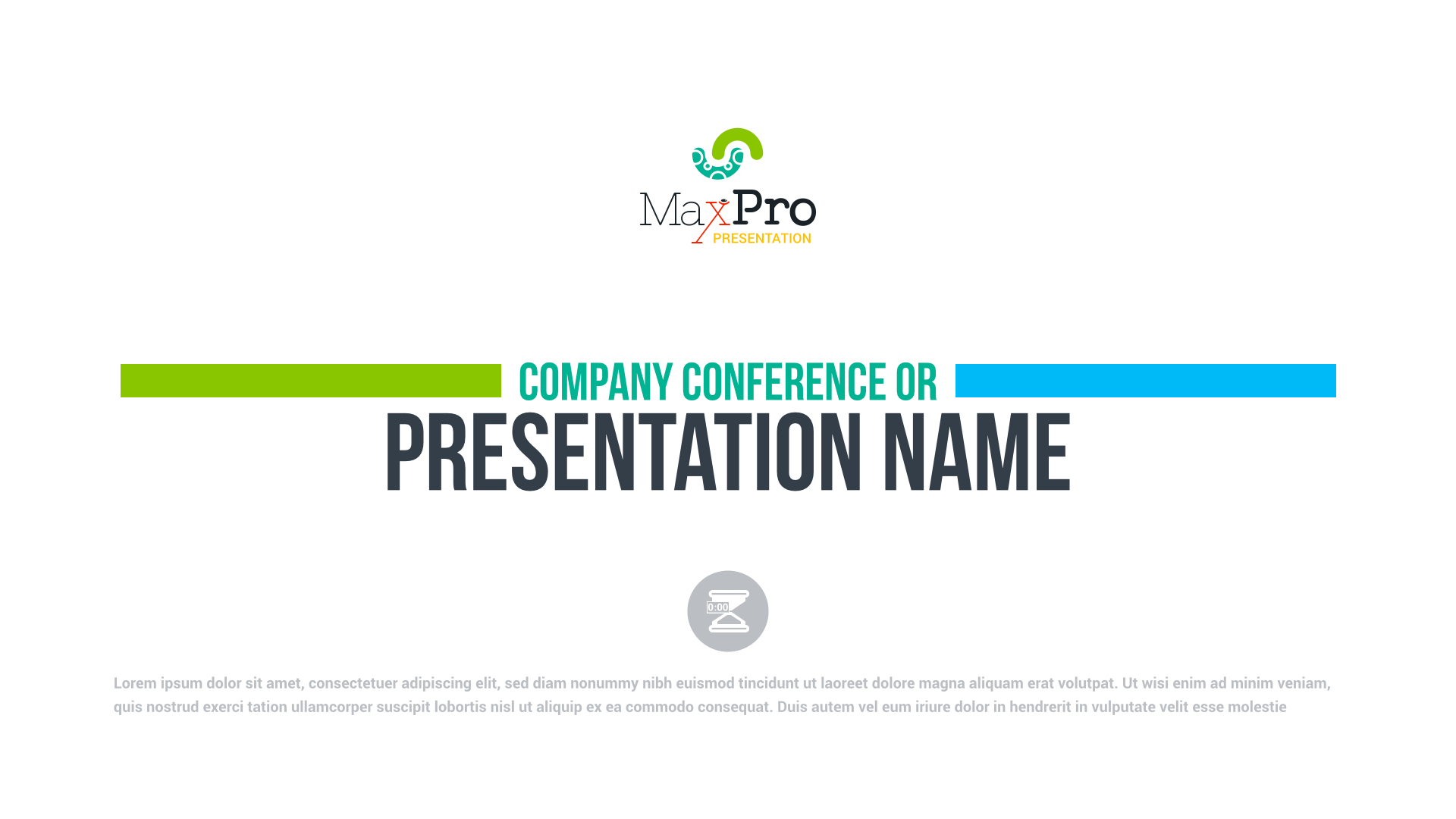 MaxPro - Business Plan PowerPoint Presentation by ContestDesign ...