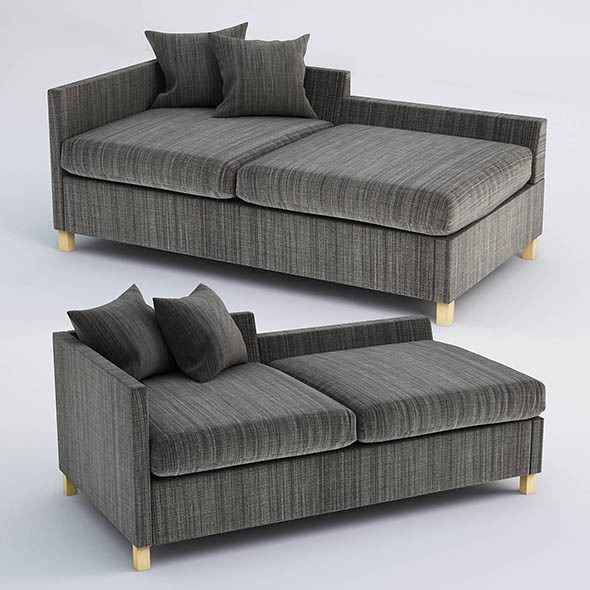 Anglais sofa - 3DOcean Item for Sale