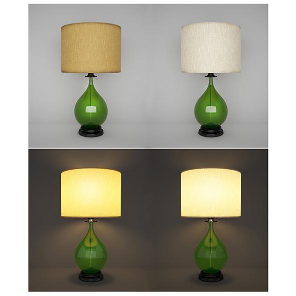 Tablelamp 01 - 3DOcean Item for Sale
