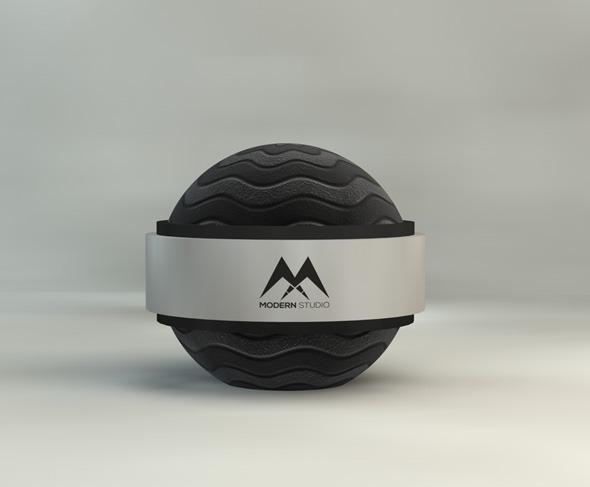 Black Rubber Material  - 3DOcean Item for Sale