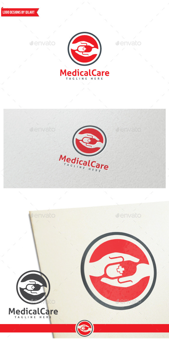 MedicalCare - Abstract Logo Templates
