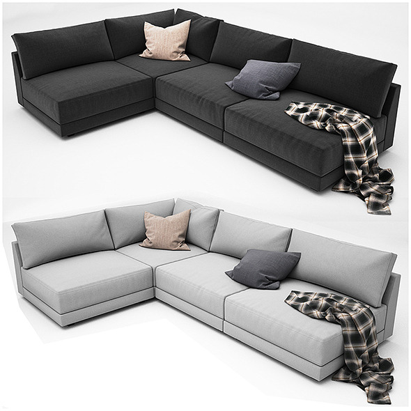Sofa collection 05 - 3DOcean Item for Sale