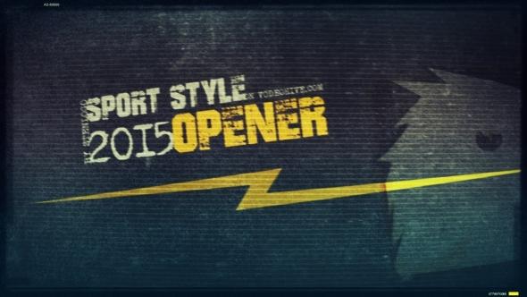 Sport Style Opener