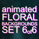 Animated Floral Backgrounds #6 - VideoHive Item for Sale