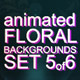 Animated Floral Backgrounds #5 - VideoHive Item for Sale