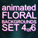 Animated Floral Backgrounds #4 - VideoHive Item for Sale
